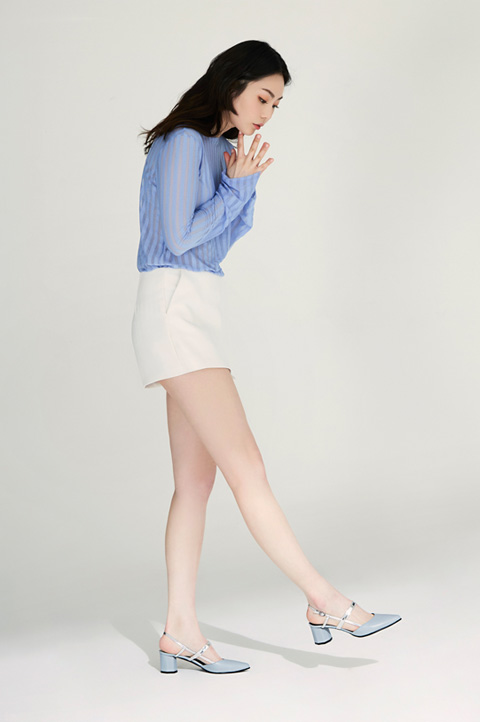 [LOOKBOOK] SlingBack ADS101 - Sky Blue
